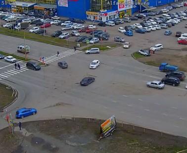 Абакан. Веб камера онлайн перекресток Некрасова — Кирова