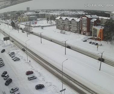 Ангарск. Веб камера онлайн Ленинградский проспект камера №2