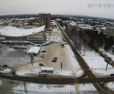 Ангарск. Веб камера онлайн улица Социалистическая