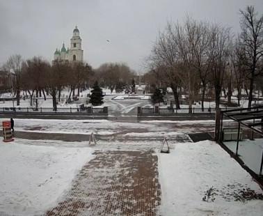 Астрахань. Веб камера онлайн Братский сад камера №1
