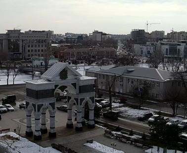 Астрахань. Веб камера онлайн Триумфальная арка