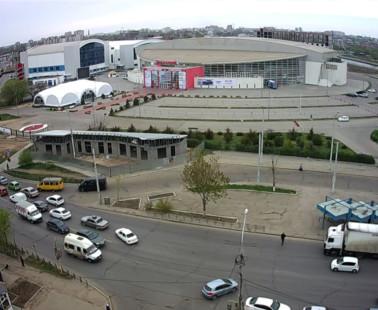Астрахань. Веб камера онлайн Звёздный аквапарк