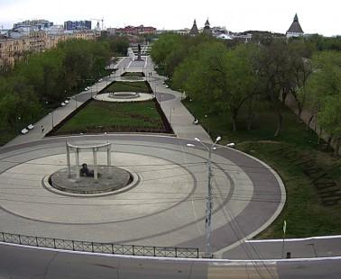 Астрахань. Веб камера онлайн площадь Ленина
