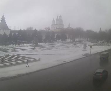 Астрахань. Веб камера онлайн площадь Ленина камера №1