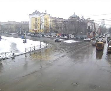 Астрахань. Веб камера онлайн площадь Ленина камера №2