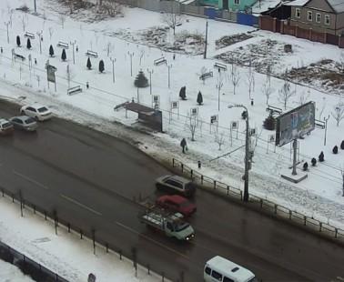 Астрахань. Веб камера онлайн сквер Ветеранов