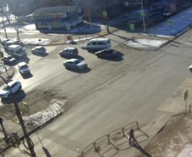 Астрахань. Веб камера онлайн улица Яблочкова
