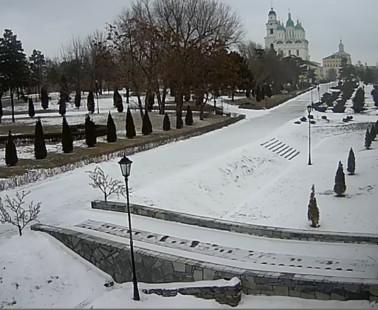 Астрахань. Веб камера онлайн Астраханский Кремль