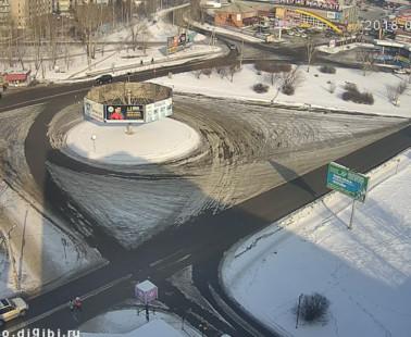 Бийск. Веб камера онлайн АТС-4 кольцо