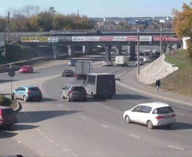 Барнаул. Веб камера онлайн проспект Строителей