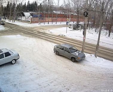 Бийск. Веб камера онлайн переулок Омский