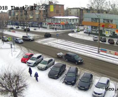 Бийск. Веб камера онлайн ул. Васильева и Липового