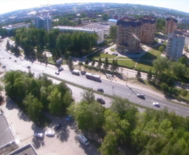 Чебоксары. Веб камера онлайн Московский проспект