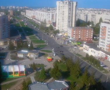 Чебоксары. Веб камера онлайн ТЦ «Москва»