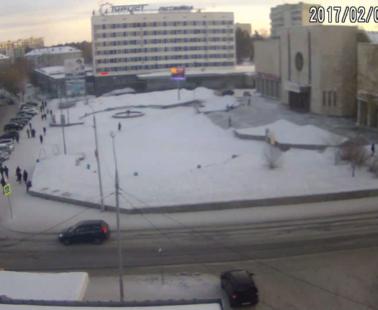 Братск. Веб камера онлайн Энергетик площадь