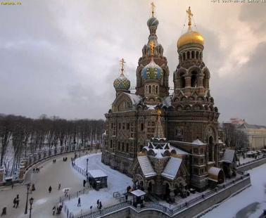 Санкт-Петербург. Веб камера онлайн храм Спаса-на-Крови