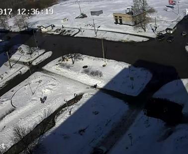 Глазов. Веб камера онлайн улица К. Маркса, дом 13