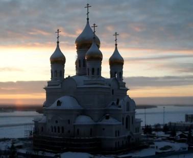 Архангельск. Веб камера Кафедральный собор