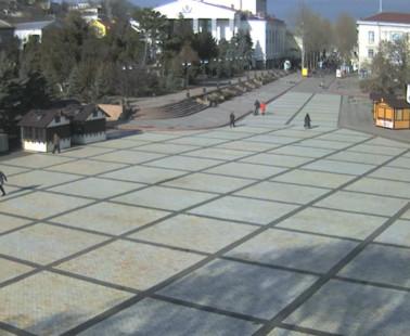 Керчь. Веб камера онлайн Площадь Ленина камера №2
