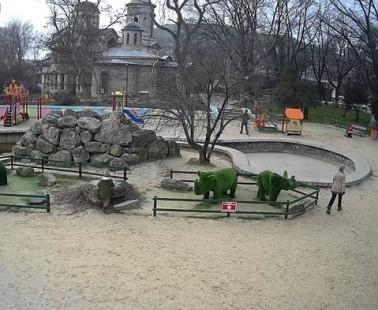 Керчь. Веб камера онлайн парк «Аленка»