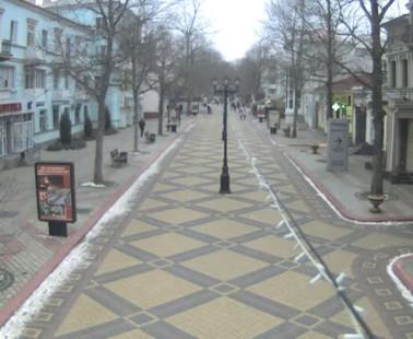 Керчь. Веб камера онлайн улица Ленина