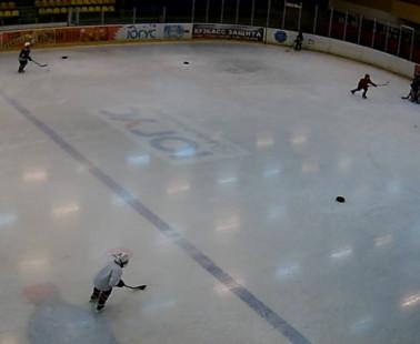 Междуреченск. Веб камера онлайн ледовый дворец «Кристалл» №1