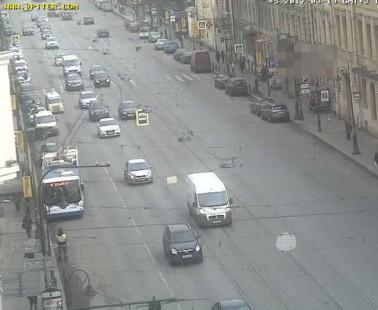 Санкт-Петербург. Веб камера онлайн Литейный проспект