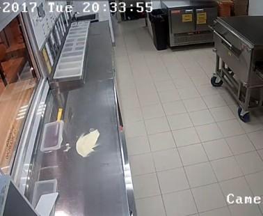 Москва. Веб камера онлайн пиццерия на Маршала Жукова