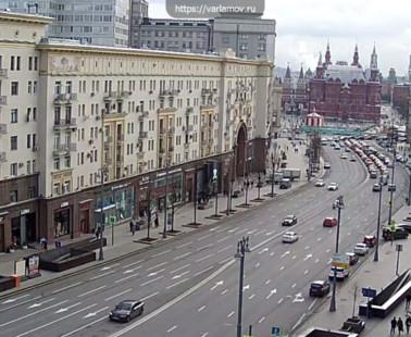 Москва. Веб камера онлайн с видом на Красную площадь