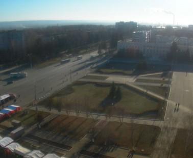 Новочебоксарск Площадь Победы