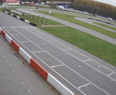 Подольск. Веб камера онлайн гоночный автотрек