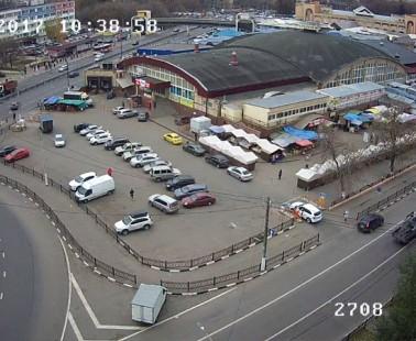 Подольск. Веб камера онлайн центральный рынок