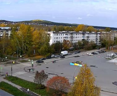 Полевской. Веб камера онлайн дворец спорта
