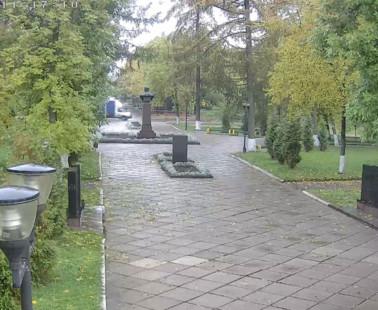Рыбинск. Веб камера онлайн Аллея Славы