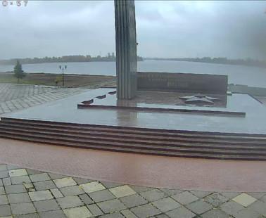 Рыбинск. Веб камера онлайн Вечный огонь