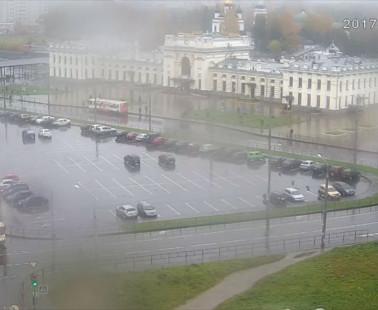 Рыбинск. Веб камера онлайн Вокзальная площадь