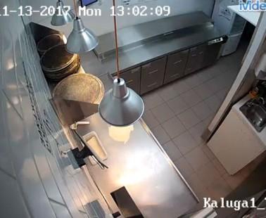 Калуга. Веб камера онлайн с кухни Додо
