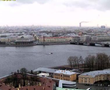 Санкт-Петербург. Веб камера онлайн Васильевский остров