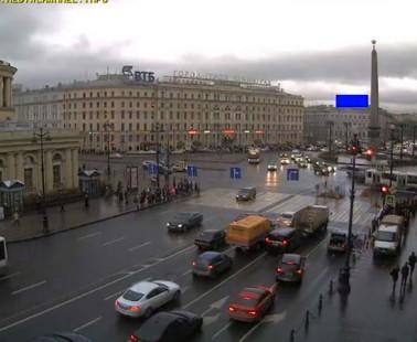 Санкт-Петербург. Веб камера онлайн площадь Восстания
