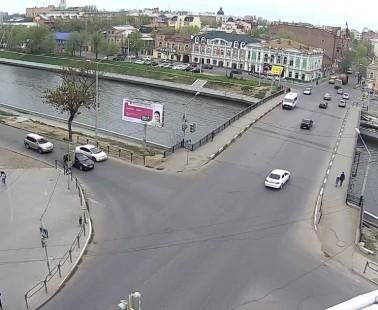 Астрахань. Веб камера онлайн Сапожниковский мост