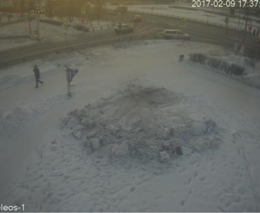 Братск. Веб камера онлайн перекресток Советская — Ленина