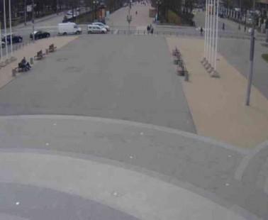 Парк «Сокольники». Веб камера онлайн Центральная аллея