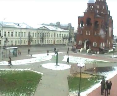Владимир. Веб камера онлайн Театральная Площадь