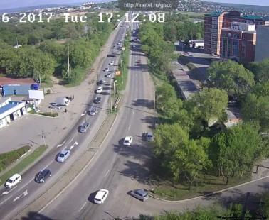 Уссурийск. Веб камера онлайн Владивостокское шоссе