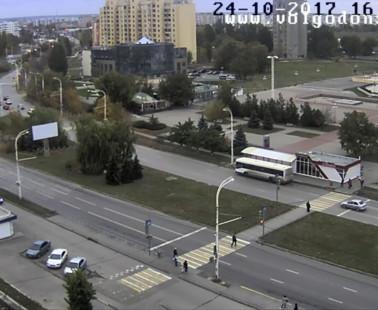 Волгодонск. Веб камера онлайн проспект Курчатова