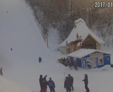 Междуреченск. Веб камера онлайн гора «Югус» №2