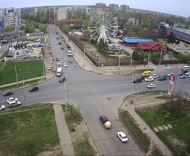 Астрахань. Веб камера онлайн парк Планета