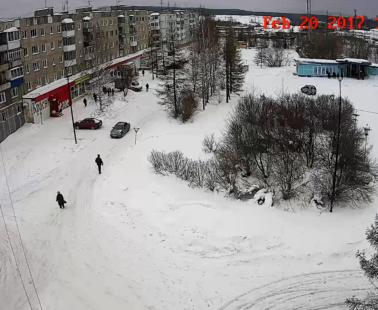 Кушва. Веб камера онлайн площадь ГБД