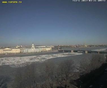 Санкт-Петербург. Веб камера онлайн поворотная обзорная