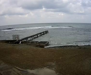 Анапа. Веб камера онлайн серфинг-станция в Малой бухте